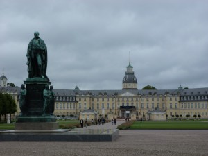 Karlsruhe Palace - now a museum
